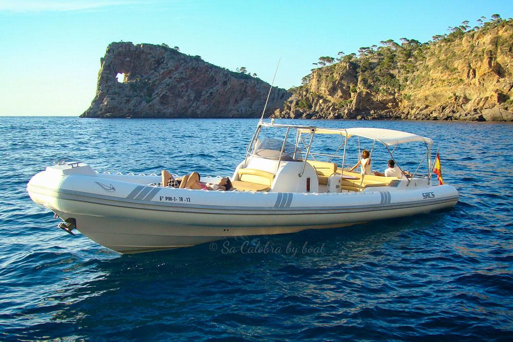 Boat Hire Port de Sóller to Sa Calobra - Chapruski