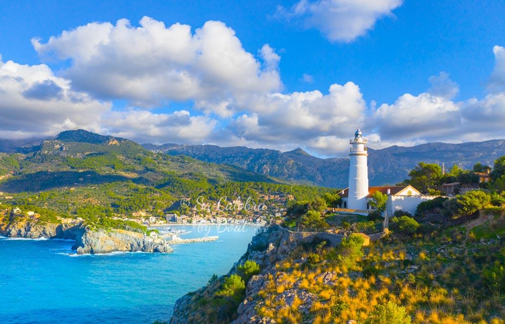 Port de Sóller, Mallorca island north coast Serra de Tramuntana